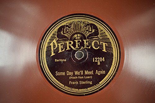 Frank Sterling / Charles Warren -Perfect 78 RPM - Some Day We
