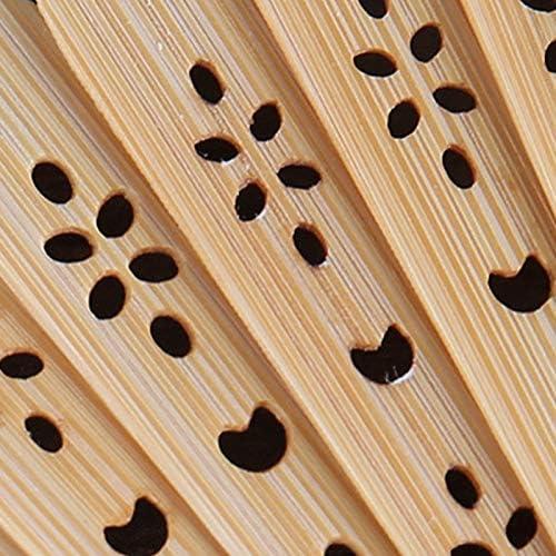 Fablcrew Hand Faecher Faltfaecher Dekoratives Design Size 21 * 38cm (Stil 7)