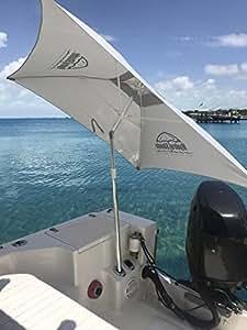 Umbrellas for Boats (new pics) scroll down - Texas Fishing ...   Bass Boat Umbrella