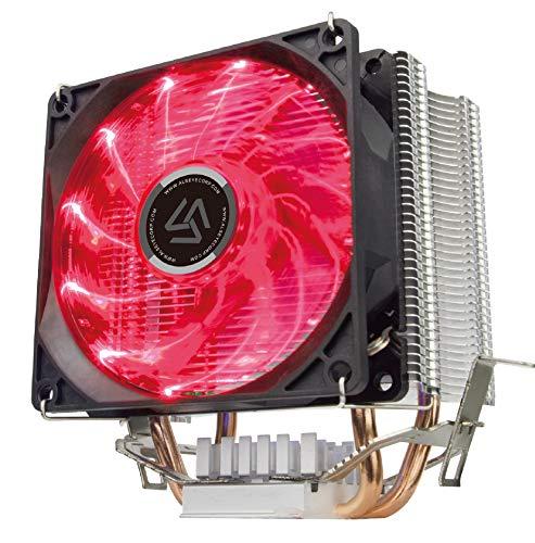 ALSEYE CPU Cooler PC Heatsink 90mm Quiet LED Fan Computer CPU Air Cooling Cooler Radiator for for LGA 1155/1151/1156/1366/775 / AM2 / AM3 / AM4