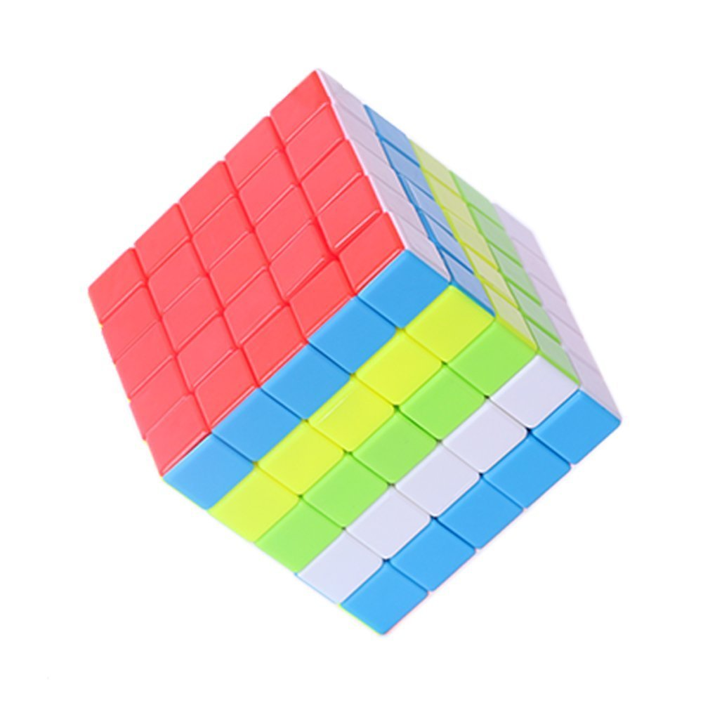 5x5 Magic Cube Puzzle Toy Stickerless Colorful Speed Cubes Pressure Relief and Educational Toys