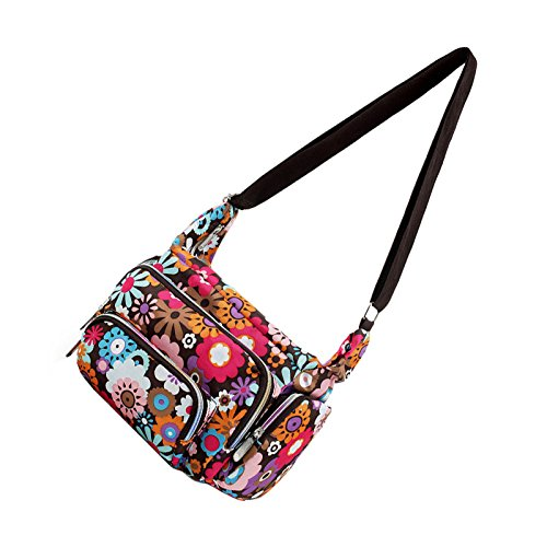 e0a78d8488 Handbag – TOOGOO(R)Women Messenger Bags Print Floral Cross Body Shoulder  Canvas Hobo