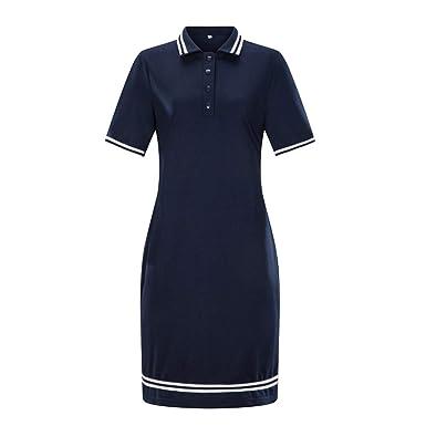 Lovor Sale Womens Plus Size Short Sleeve Polo Dress Casual ...