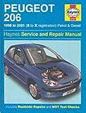 Peugeot 206 Petrol and Diesel Service and Repair Manual (Haynes Service and Repair Manuals)