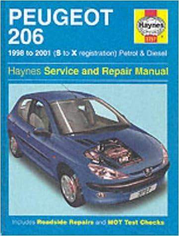 Peugeot 206 Reparaturanleitung Pdf