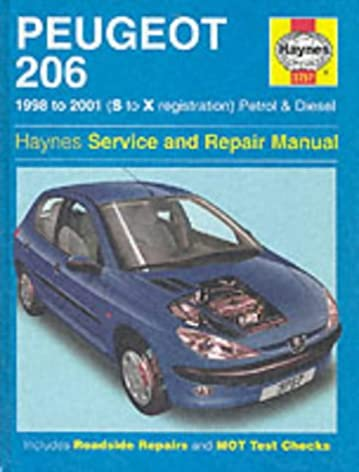 peugeot 206 petrol and diesel service and repair manual haynes rh amazon co uk peugeot 206 repair manual download repair manual peugeot 206 pdf