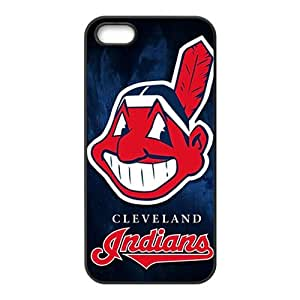 JIUJIU Characteristic cleveland indians Cell Phone Case for Iphone 5s