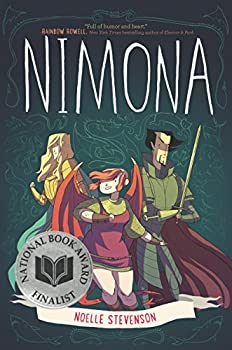 Nimona by Noelle Stevenson science fiction and fantasy book and audiobook reviews