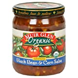 Muir Glen Organic Medium Black Bean and Corn Salsa, 16 Ounce - 12 per case.