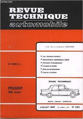 Téléchargement gratuit de nouveaux livres audio Revue technique automobile - n°255 B003WYYDFY PDF