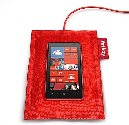 Qi Charging Plate Red DT-901 Nokia Fatboy Charging Pillow