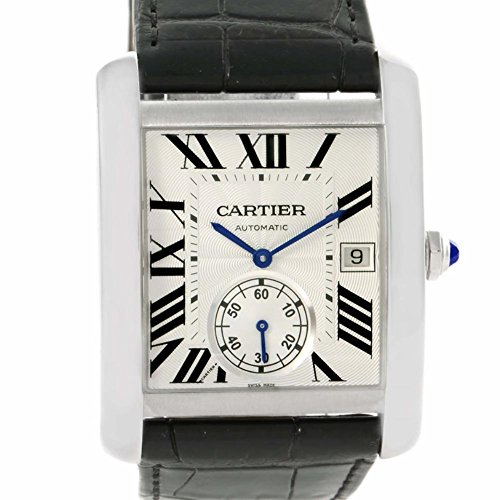 Cartier Tank MC automatic-self-wind mens Watch W5330003 (Certified Pre-owned)