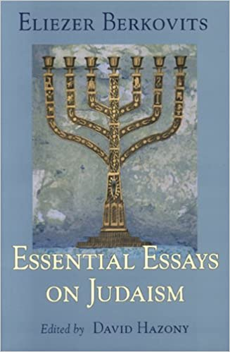 essential essays on judaism eliezer berkovits  essential essays on judaism eliezer berkovits 9789657052037 com books