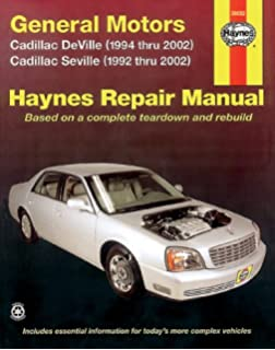 Haynes general motors cadillac dts deville and seville 92 10 general motors cadillac deville 1994 thru 2002 seville 1992 thru 2002 fandeluxe Image collections
