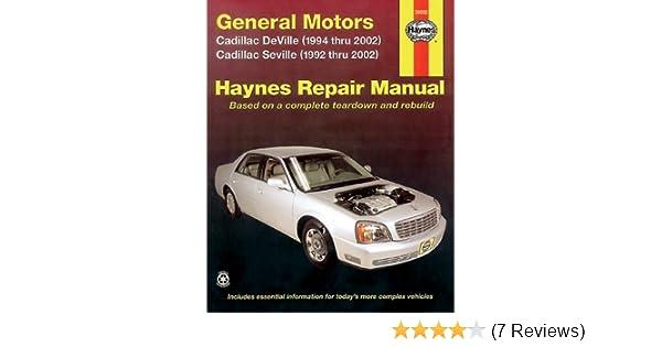 2002 cadillac deville repair manual