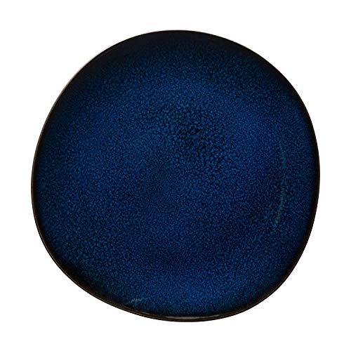Villeroy & Boch Lave Bleu Plato llano, 28 cm, Gres, Azul