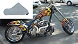 ultra chopper - Indoor heavy soft poly cotton Ultra large custom bike motorcycle cover up to 124