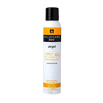 Amazon.com : NEW HELIOCARE 360 AIRGEL FLUID BODY SPF50+ ...