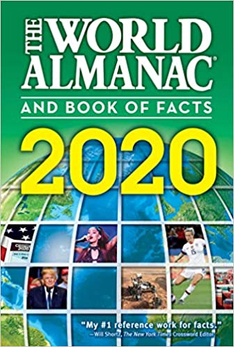 2020 Best Books.The World Almanac And Book Of Facts 2020 9781600572302