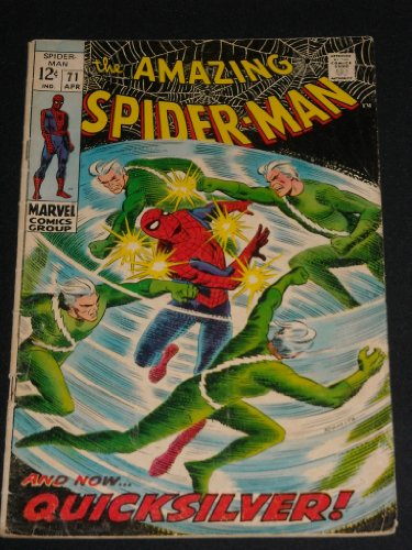 Amazing Spider-man #71 Silver Age Marvel Comic Book (AMAZING SPIDER-MAN, 1ST)