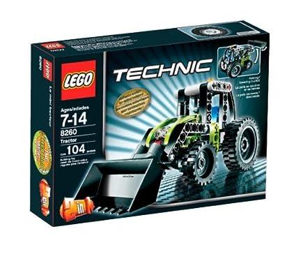 Amazoncom Lego Technic Mini Tractor Toys Games