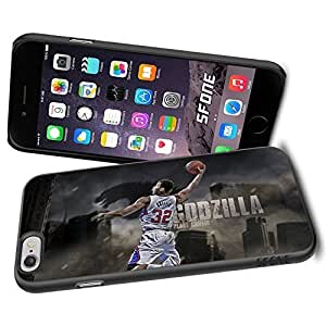 Blake Griffin Los Angeles Clippers WADE1006 Basketball iPhone 6 4.7 inch Case Protection Black Rubber Cover Protector