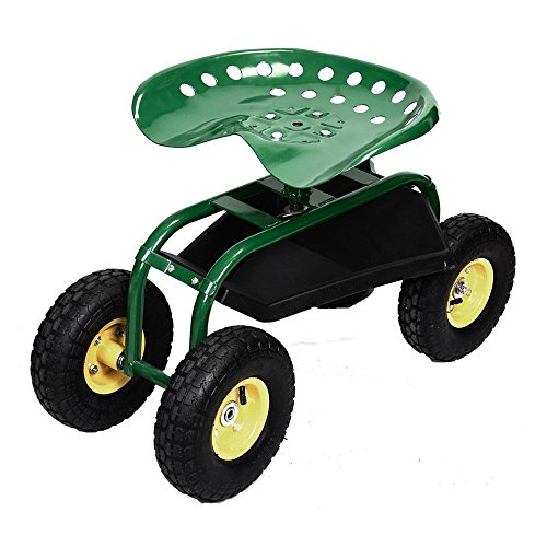 LTL Shop Rolling Garden Green Cart Work Seat With Heavy - Centre Shops Perth City