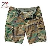 Rothco Vintage Paratrooper Shorts, Woodland, X-Large
