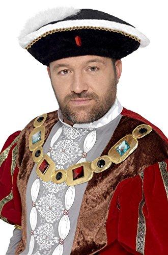 King of England Henry VIII Hat (Black)