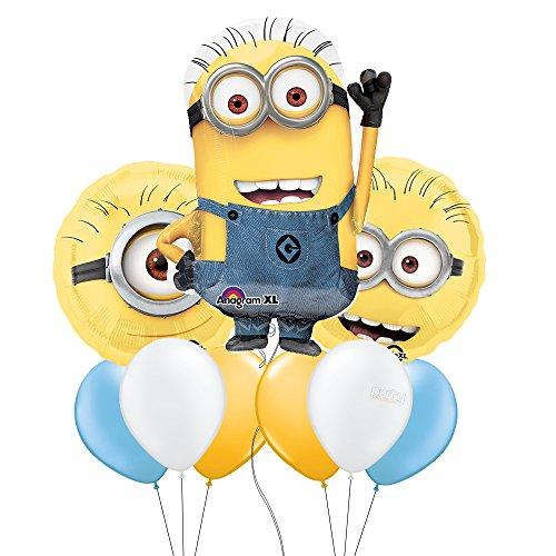 Minion Mylar Balloon Bouquet]()