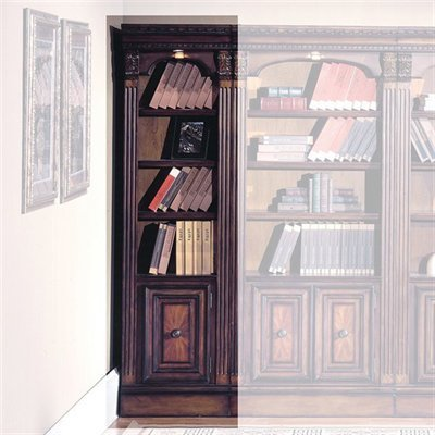 Parker House 21 Inch Open Top Bookcase W Chestnut Finish Huntington 21 In Wide