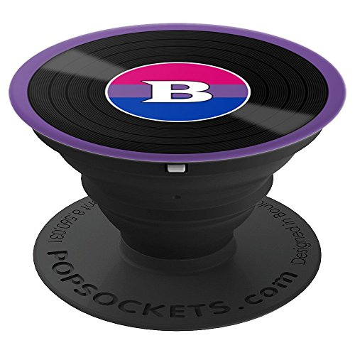 Bisexual Pride Flag Side Bi Colors - PopSockets Grip and Stand for Phones and Tablets ()