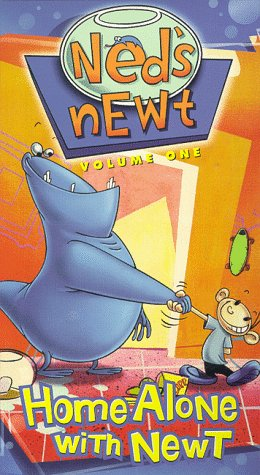 Ned's Newt: Home Alone With Newt [VHS]