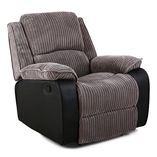 TV Relaxing Armchair Fabric Living Room Chair Recliner ...