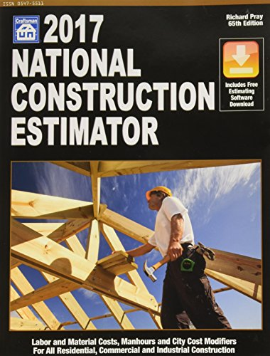 Ebook national construction estimator book free pdf for Online construction cost estimator
