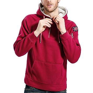 Logobeing Sudaderas de Hombre Otoño Invierno Abrigos Ropa Sudaderas Hombre Deporte Casual Outerwear Manga Larga Camisetas