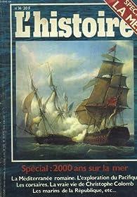 L'histoire [n° 36, juillet/août 1981] Spécial mer par Stéphane Khémis