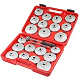 Aluminum Wrench Socket Removal Oil Filter Cup SetRing Spanner