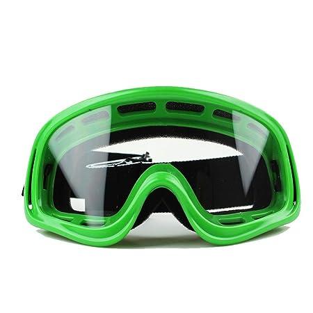 MUTANG Gafas de protección UV al Aire Libre Gafas de esquí de la Motocicleta a Campo traviesa a Prueba de Polvo de la Motocicleta Gafas de esquí Gafas de ...