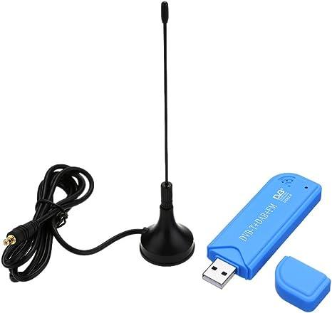 Andoer Mini USB Digital Portátil 2.0 Stick De TV DVB-T + Dab + FM RTL2832U + FC0012 Soporte SDR del Sintonizador Receptor