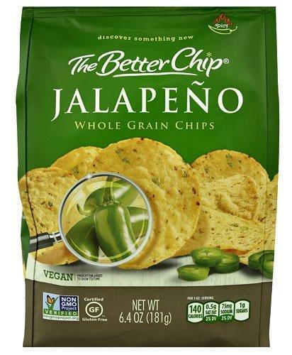 The Better Chip Whole Grain Chip 6.4oz (Jalapeno) (Best Whole Grain Chips)