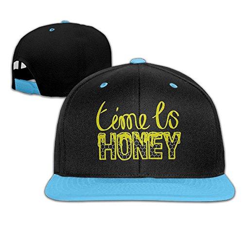 Hot Honey Bee Costumes (Kids Boy's & Girl's Time Honey Beekeeper Outdoor Hip Hop Hiking Cotton Sanpback Cap Hat Adjustable)
