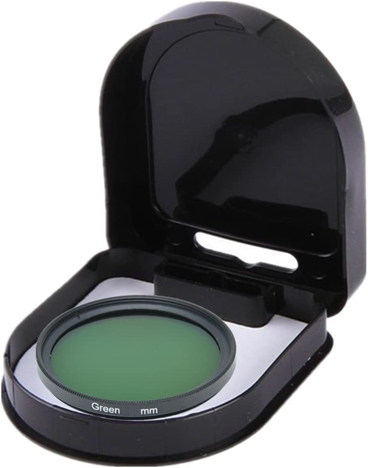 46mm 1pcs 37mm 40.5mm 43mm 46mm 49mm 52mm 55mm 58mm 62mm 67mm 72mm 77mm 82mm Full Green Color Lens Filter Protector
