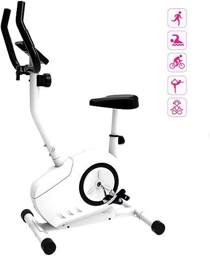 Bicicleta Estática Inicio Bicicleta Estática Mute Cubierta De Bicicleta De Ejercicios Ejercicios Gym Equipment Máquina Elíptica Fuerte Carga Capacidad De Carga (Color : Blanco): Amazon.es: Deportes y aire libre