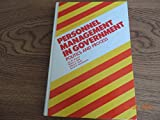 Personnel Management in Government, Jay M. Shafritz and Walter L. Balk, 0824766296