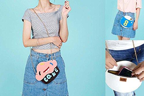 Schön Tasche Umhängetasche Damenhandtaschen Geldbörse, Kuchen