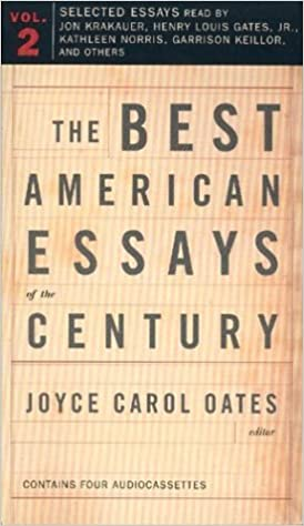 The best american essays of the century joyce carol oates garrison