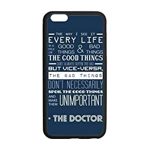 Hellocase Doctor Who Tardis Police Box Protective Hard Rubber Coated Phone Case Cover for iphone 6 4.7 inch -LCIPU51