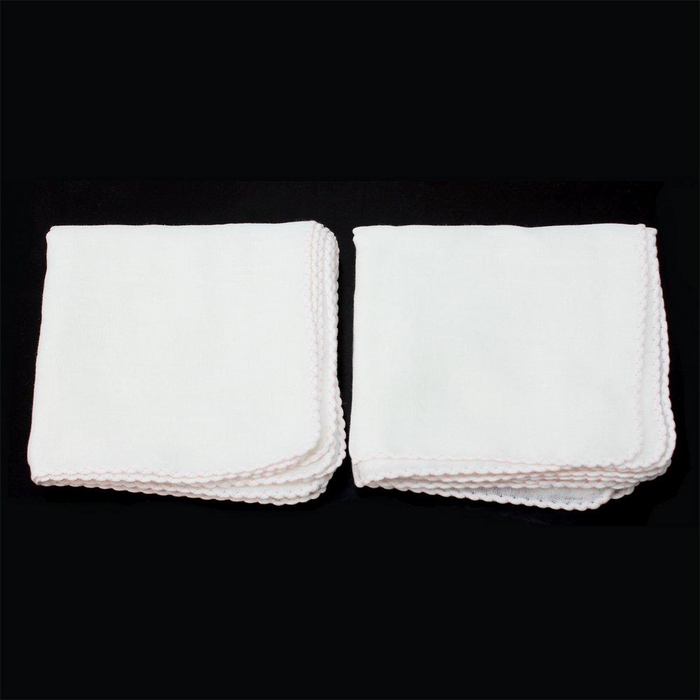 10X Paños de Algodón Muselina Tela Toallita de Limpieza Facial Desmaquillaje: Amazon.es: Hogar