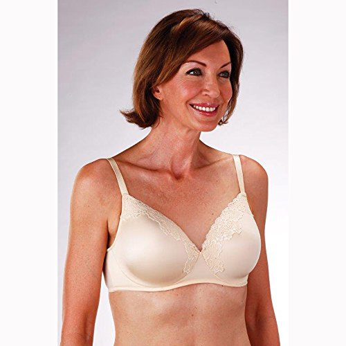 Classique Post - Classique Post Mastectomy Fashion Bra 718 Molded/Seamless - 34C - Beige